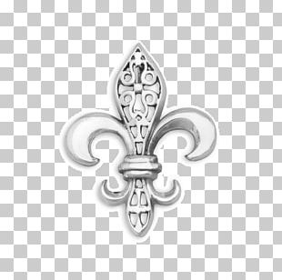 Fleur-de-lis Filigree Brooch Pin Charms & Pendants PNG