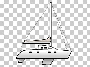 Sailing Ship Yacht Scow PNG
