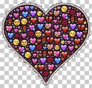 Emoji Heart Symbol Love Emoticon PNG