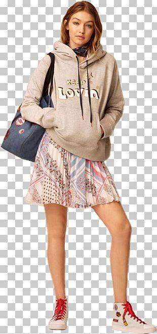Gigi Hadid Tommy Hilfiger Fashion Model Runway PNG