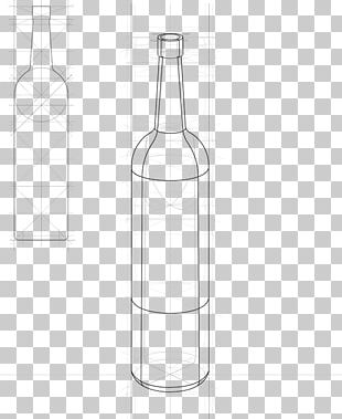 Glass Bottle Drawing Painting Water Bottles PNG