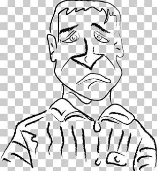 Sadness Cartoon Man PNG