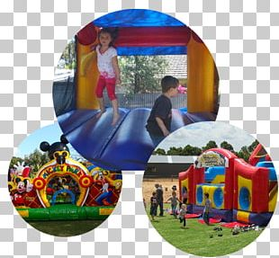 Inflatable Bouncers Castle Child Character Jumps PNG