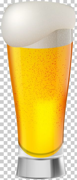 Beer Pint Glass Orange Drink United States Of America PNG