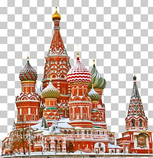 Saint Basils Cathedral Red Square Moscow Kremlin Saint Petersburg Tour Of Moscow PNG