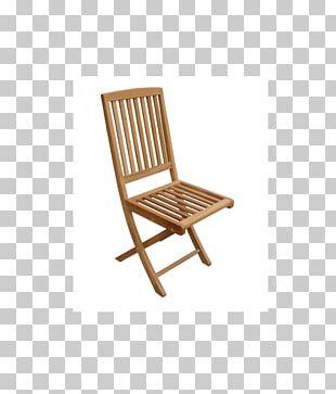 Folding Chair Garden Furniture Deckchair PNG