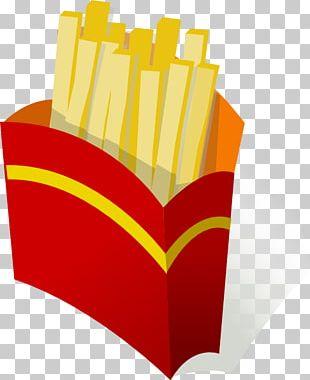 Junk Food French Fries Fast Food Hamburger PNG