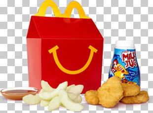 McDonald's Chicken McNuggets Chicken Nugget French Fries Hamburger Happy Meal PNG