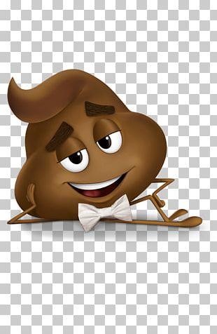 Poo Emoji Movie Character PNG