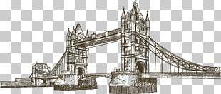 Big Ben Tower Bridge Landmark PNG