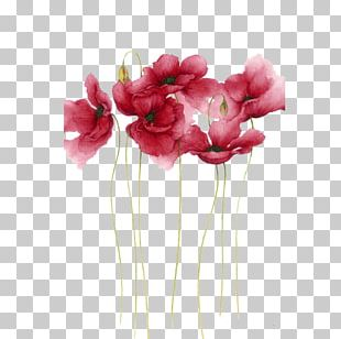 Watercolor Painting Flower Drawing Art PNG