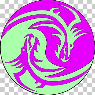 White Dragon Chinese Dragon Black And White Yin And Yang PNG