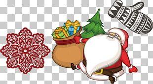 Santa Claus Christmas Drawing Animation PNG