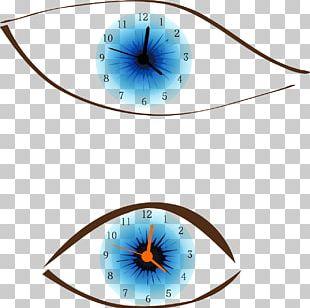 Alarm Clocks Digital Clock Eye PNG