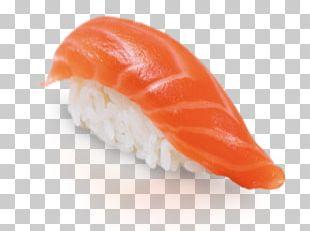 Sushi Onigiri California Roll Smoked Salmon Japanese Cuisine PNG
