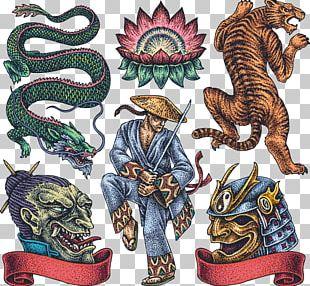 Tattoo Artist Irezumi Japanese Dragon PNG
