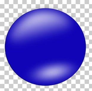 Circle Blue Shape Ball PNG