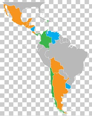 Latin America South America Caribbean Central America Region PNG