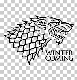 Jon Snow House Stark Winter Is Coming Decal House Targaryen PNG