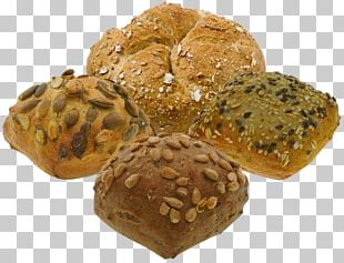 Rye Bread Small Bread Bun Brown Bread PNG