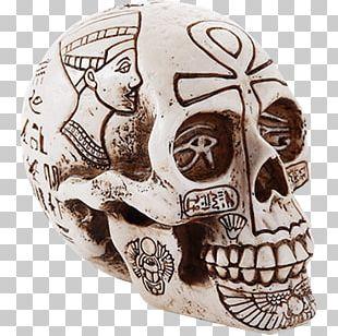 Ancient Egypt Skull Beelzebub Ankh Egyptian PNG