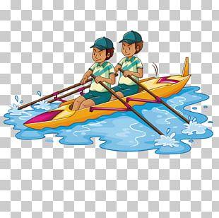 Rowing Kayak Stock Photography PNG