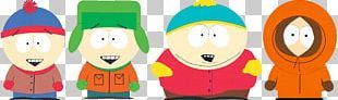 South Park Characters Stan Kyle Cartman Kenny PNG