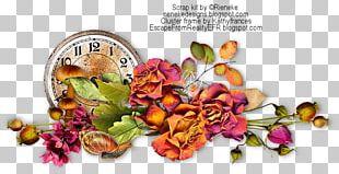 Floral Design Frames Spice Painting PNG