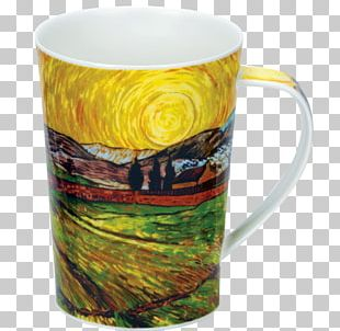 Coffee Cup The Starry Night Mug Impressionism Landscape Painting PNG