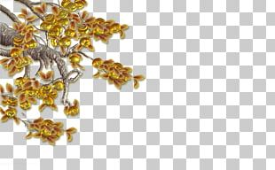 Gold Tree S PNG