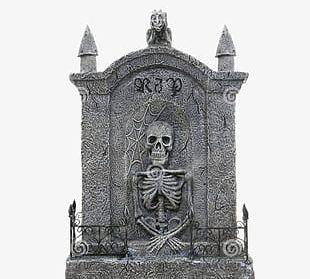 Halloween Tombstone PNG