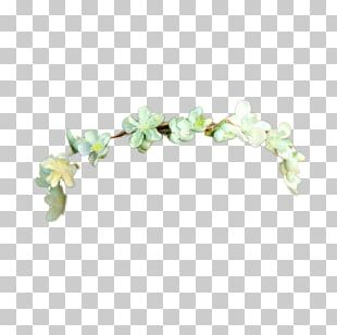 Crown Flower Wreath Garland Headband PNG
