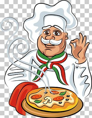 Pizza Italian Cuisine Chef Cook PNG