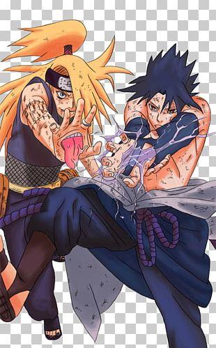Sasuke Uchiha Deidara Itachi Uchiha Naruto Uzumaki Kakashi Hatake PNG