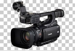 Canon XF100 Camcorder Professional Video Camera High-definition Television PNG