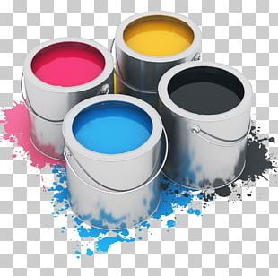 Oil Paint Tin Can Drawing Acrylic Paint PNG
