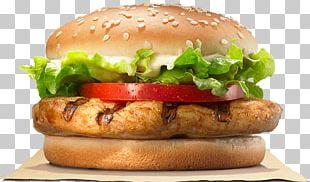 Burger King Grilled Chicken Sandwiches Hamburger Cheeseburger TenderCrisp PNG