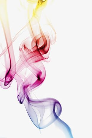 Colorful Misty Smoke Ambilight PNG