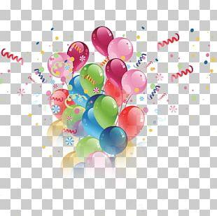 Toy Balloon Birthday Hot Air Balloon PNG