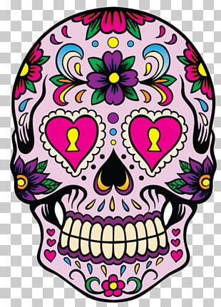 Calavera Skull Day Of The Dead Decal Mexican Cuisine PNG