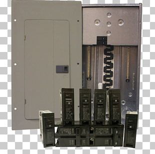 Circuit Breaker Distribution Board Electricity Electrical Network Ground PNG