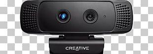 Creative Technology Creative BlasterX Senz3D Camera Gesture Recognition Webcam PNG