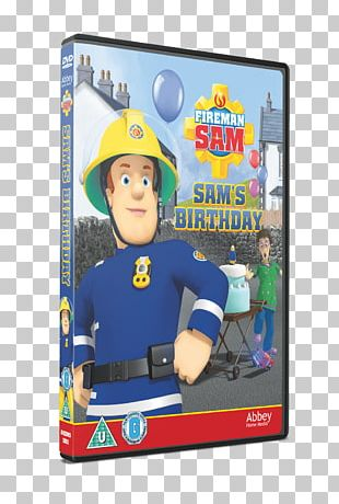 Fireman Sam Sam's Birthday Fun Run DVD PNG