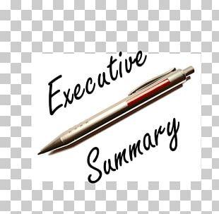 Logo Executive Summary Business Plan Entrepreneurship PNG