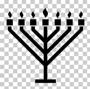 Celebration: Hanukkah Menorah Judaism PNG