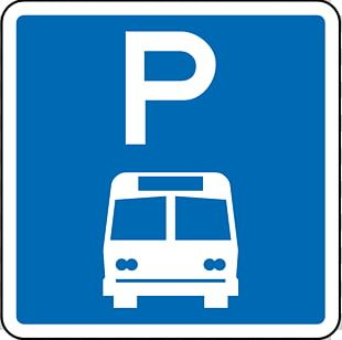 New Zealand Bus Parking Car Park Sign PNG