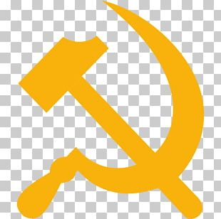 Soviet Union Hammer And Sickle Russian Revolution Communist Symbolism PNG