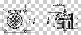 Technical Drawing Wiring Diagram Electrical Connector PNG