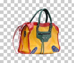 Tote Bag Handbag Messenger Bag Yellow Pattern PNG