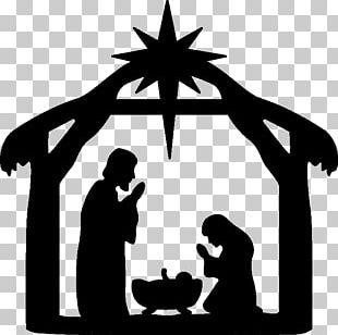 Nativity Scene Nativity Of Jesus Christmas Manger PNG